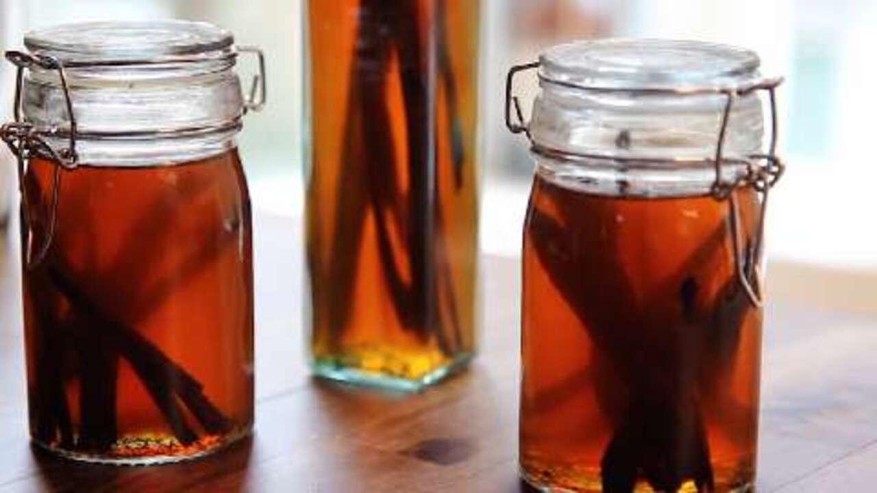 Homemade Vanilla Extract Video