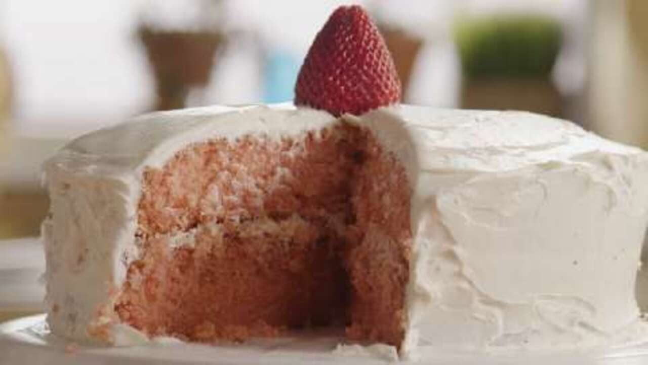 Low Fat Strawberry Cake From Scratch