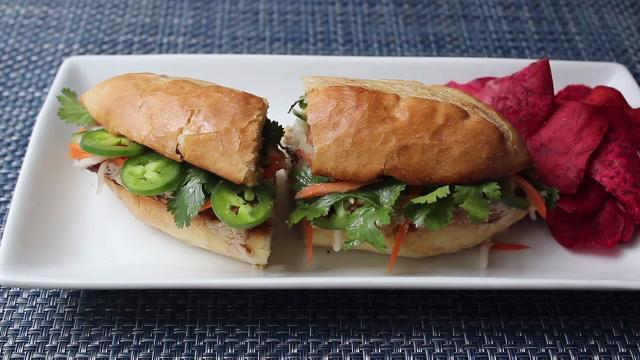 Roasted Pork Banh Mi (Vietnamese Sandwich ) Video