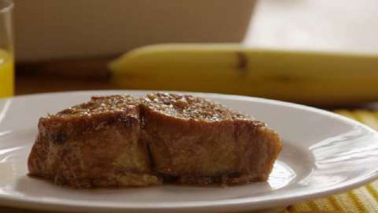 baked french toast video