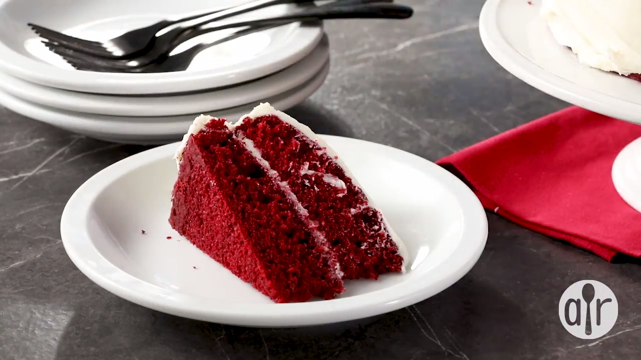 Red Velvet Cake Video Allrecipescom