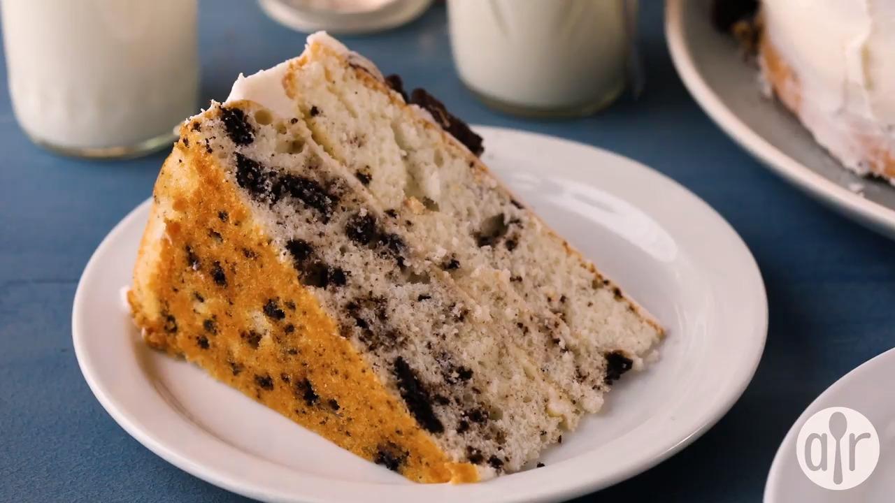 cookies n cream cake video
