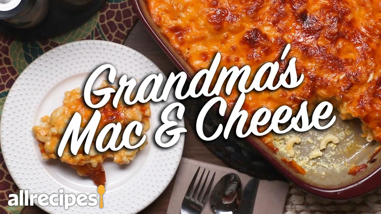 grandmas southern mac and cheese video