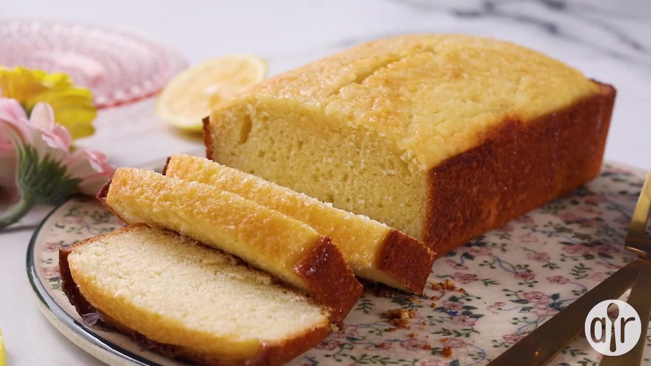 zesty lemon loaf video