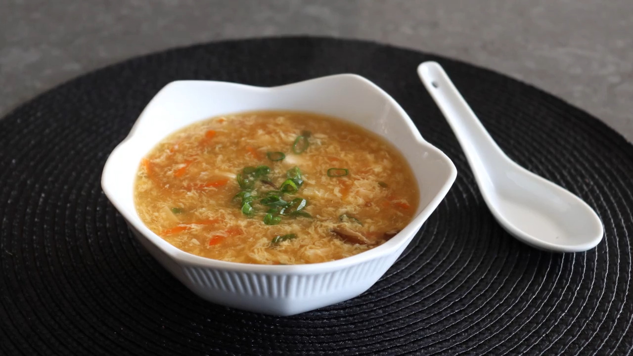 chef johns hot and sour soup video
