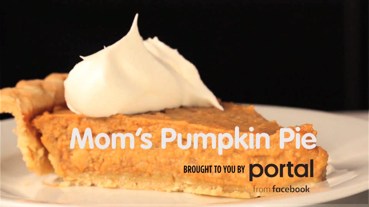 moms pumpkin pie video