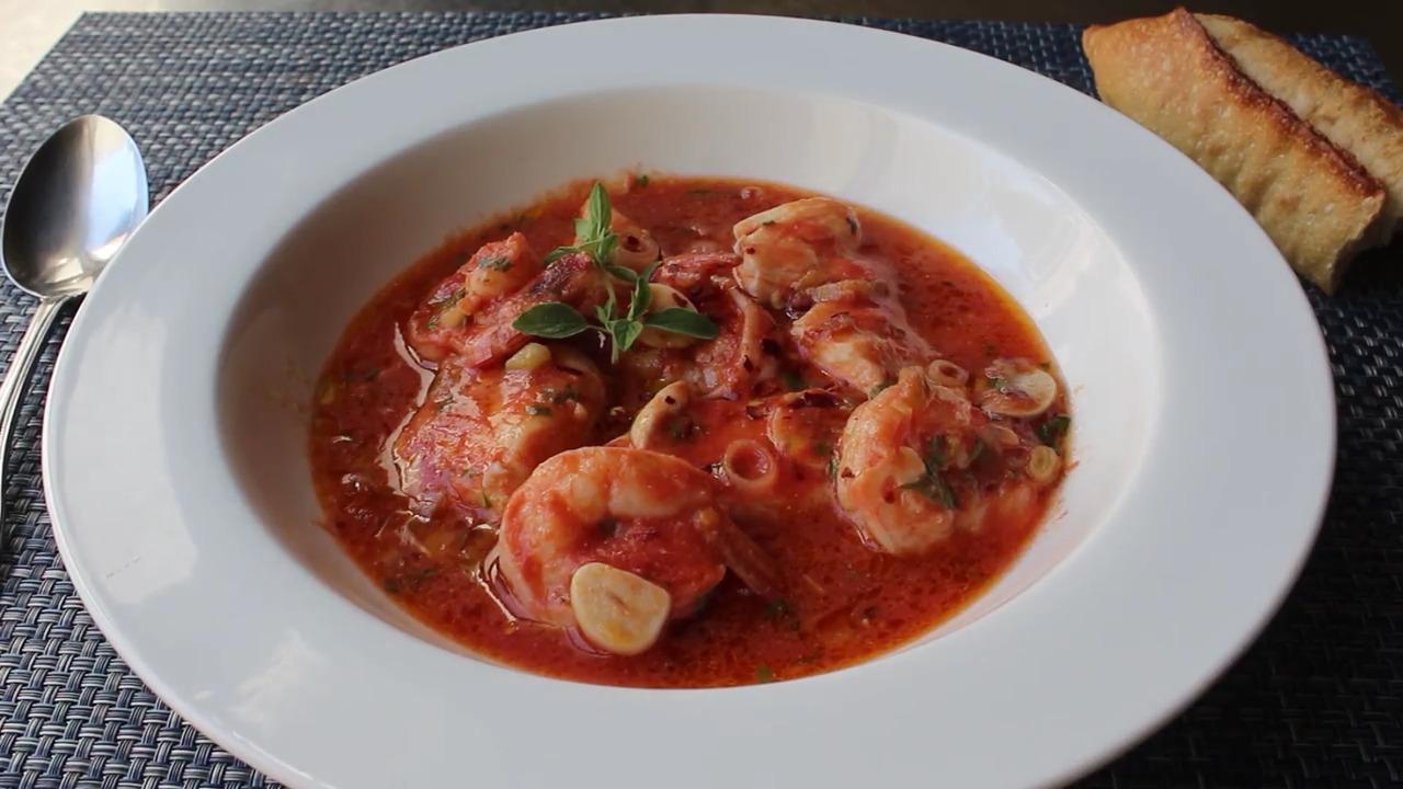 tuscan fish stew video