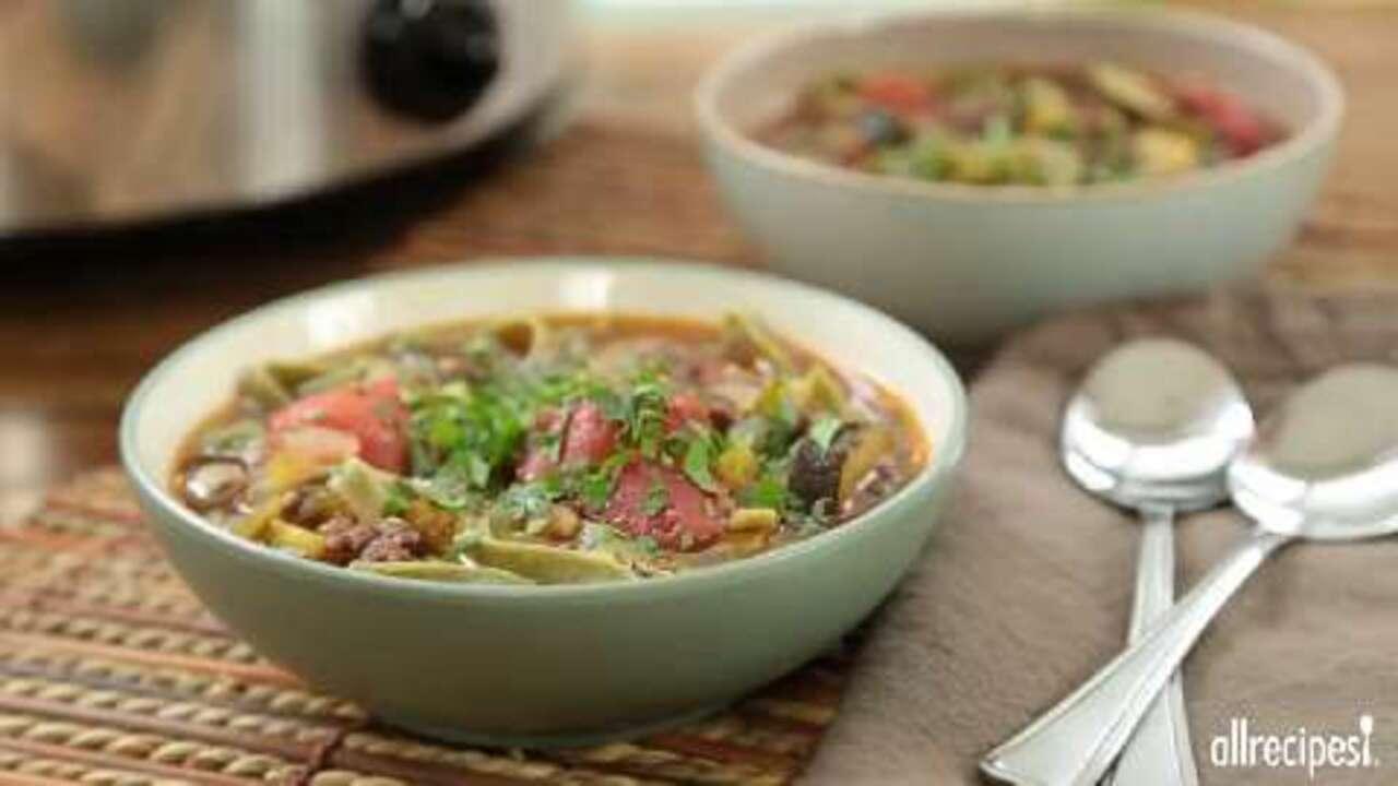 best italian sausage soup video