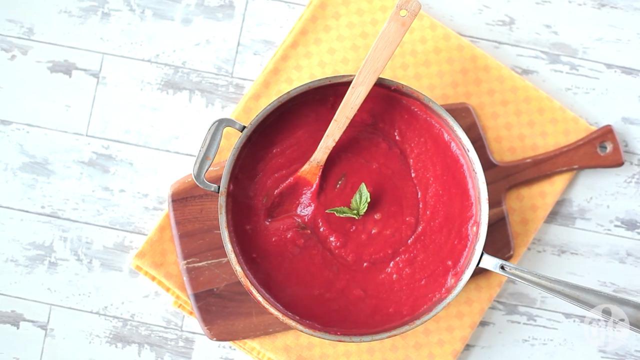 sugo di pomodoro authentic italian tomato sauce video