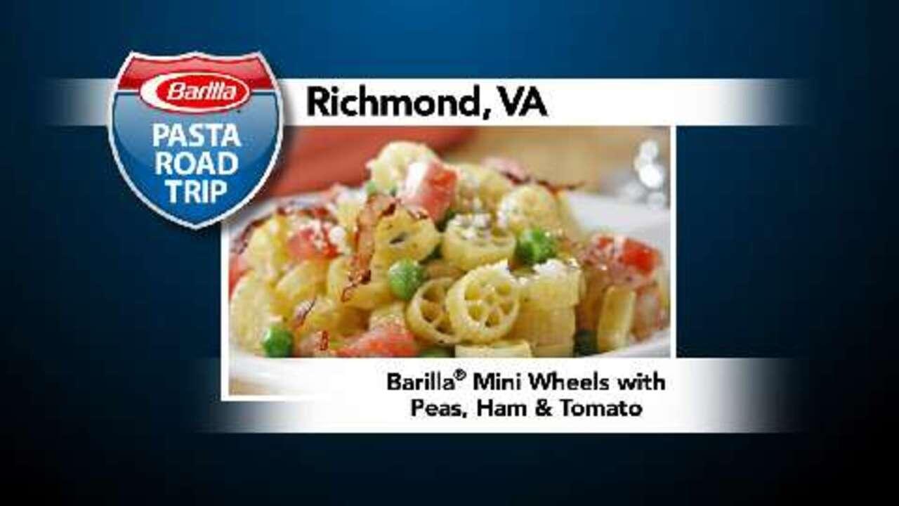Ham recipes allrecipes mini wheels with peas ham and tomato forumfinder Images