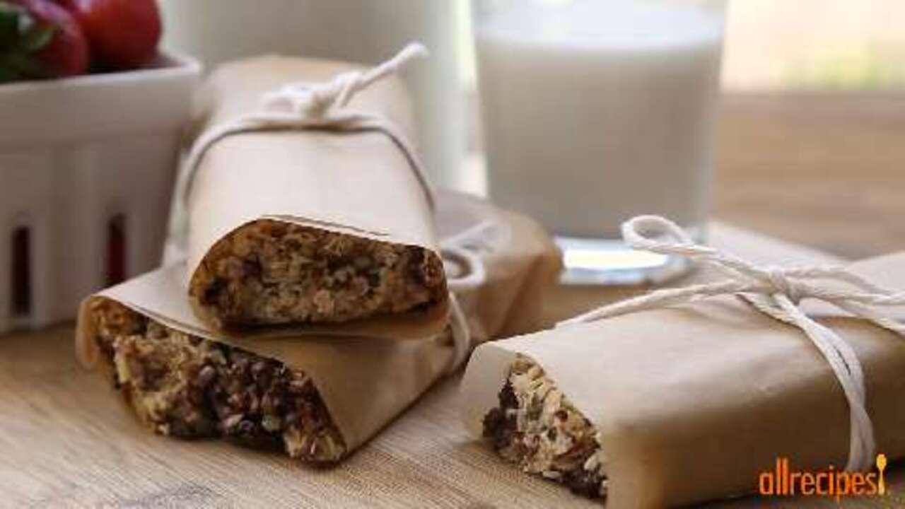 easy granola bars video