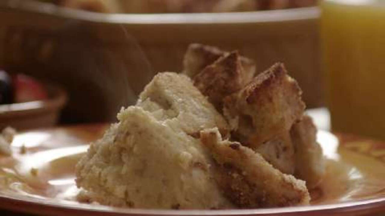 french toast casserole video