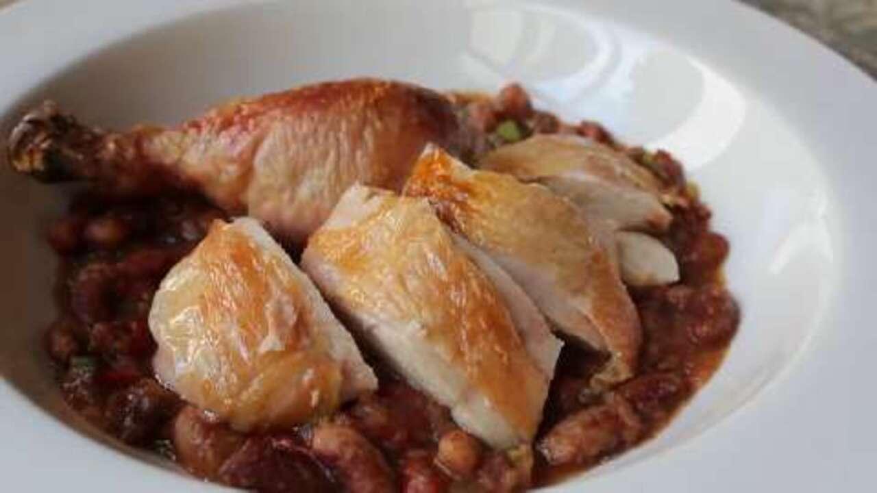 chef johns salt roasted chicken video