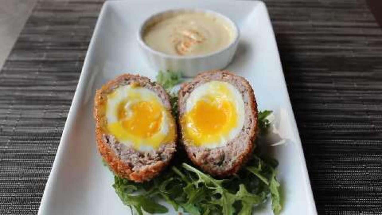 chef johns scotch eggs video