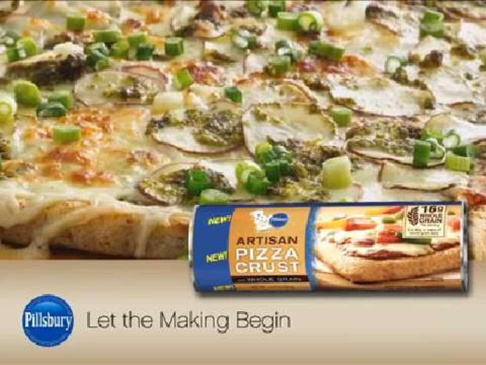 potato pesto pizza video