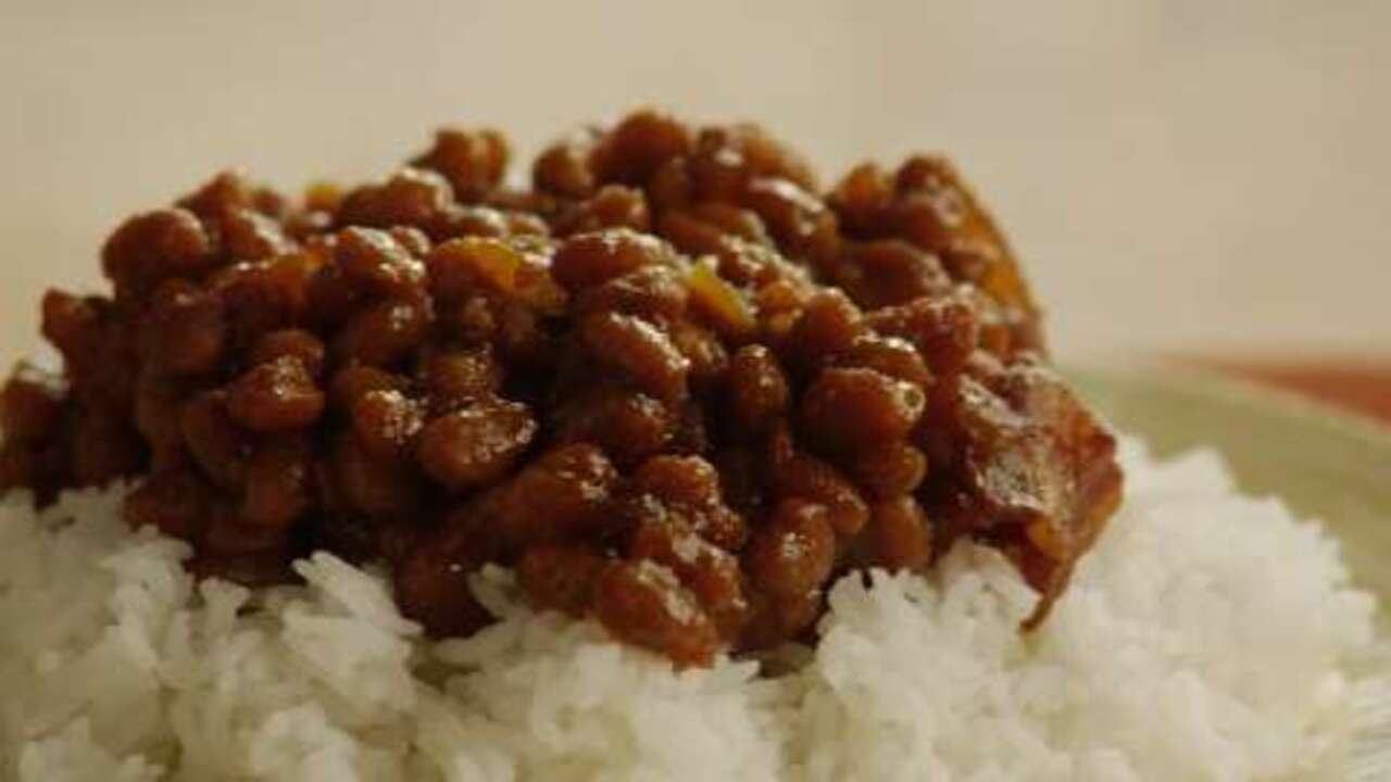 simple baked beans video