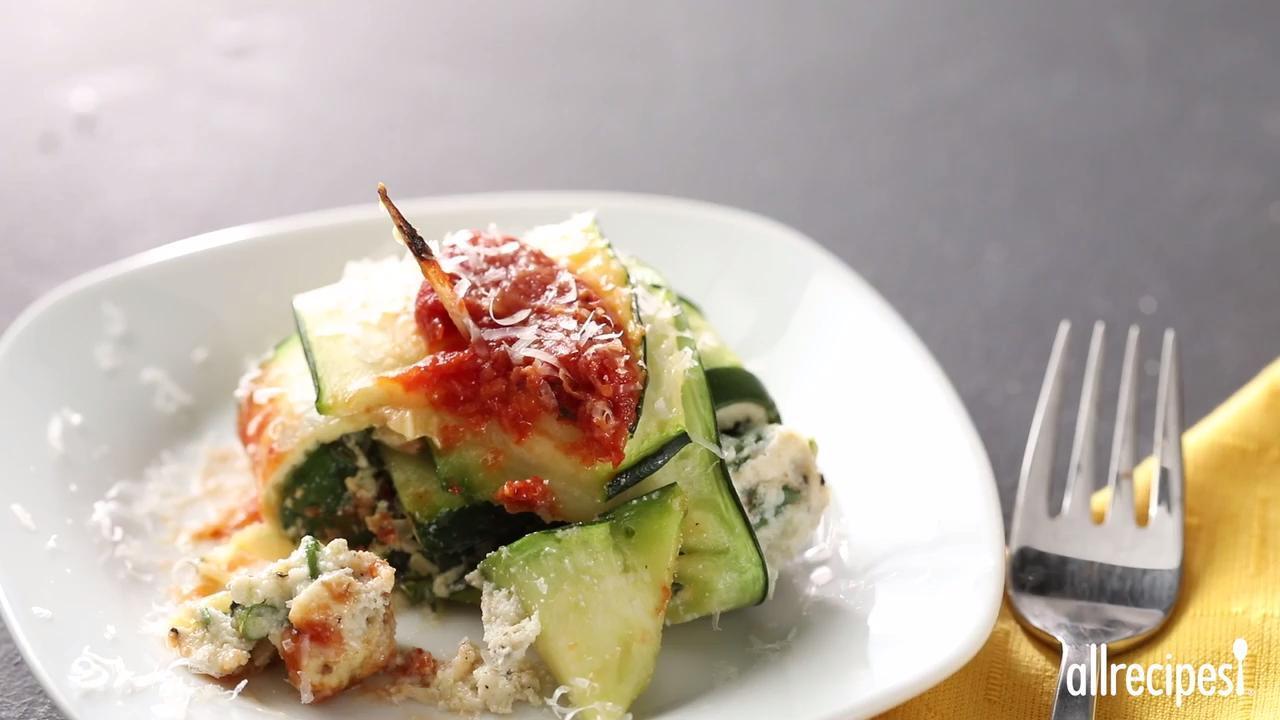 zavioli with spinach and ricotta video