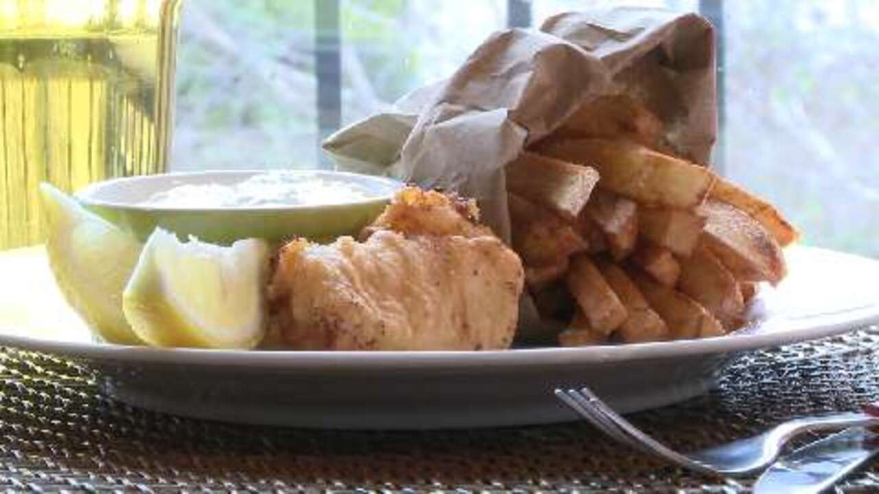 classic fish and chips video