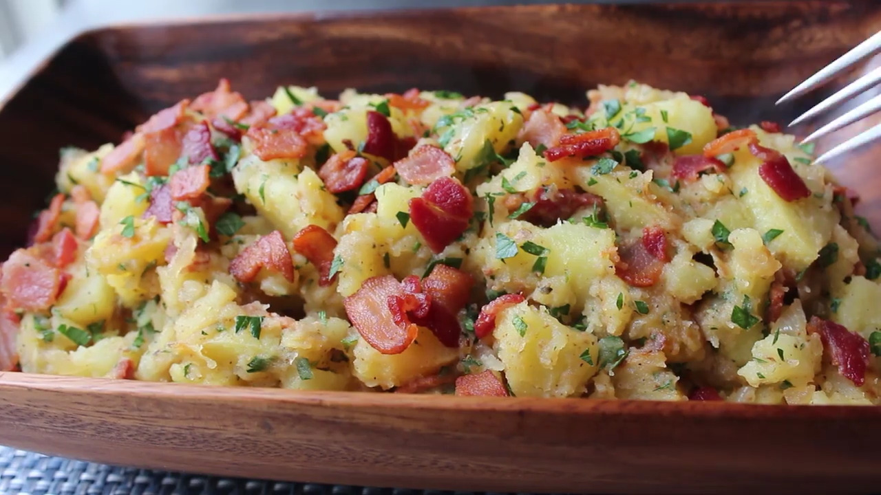 grilled german potato salad video