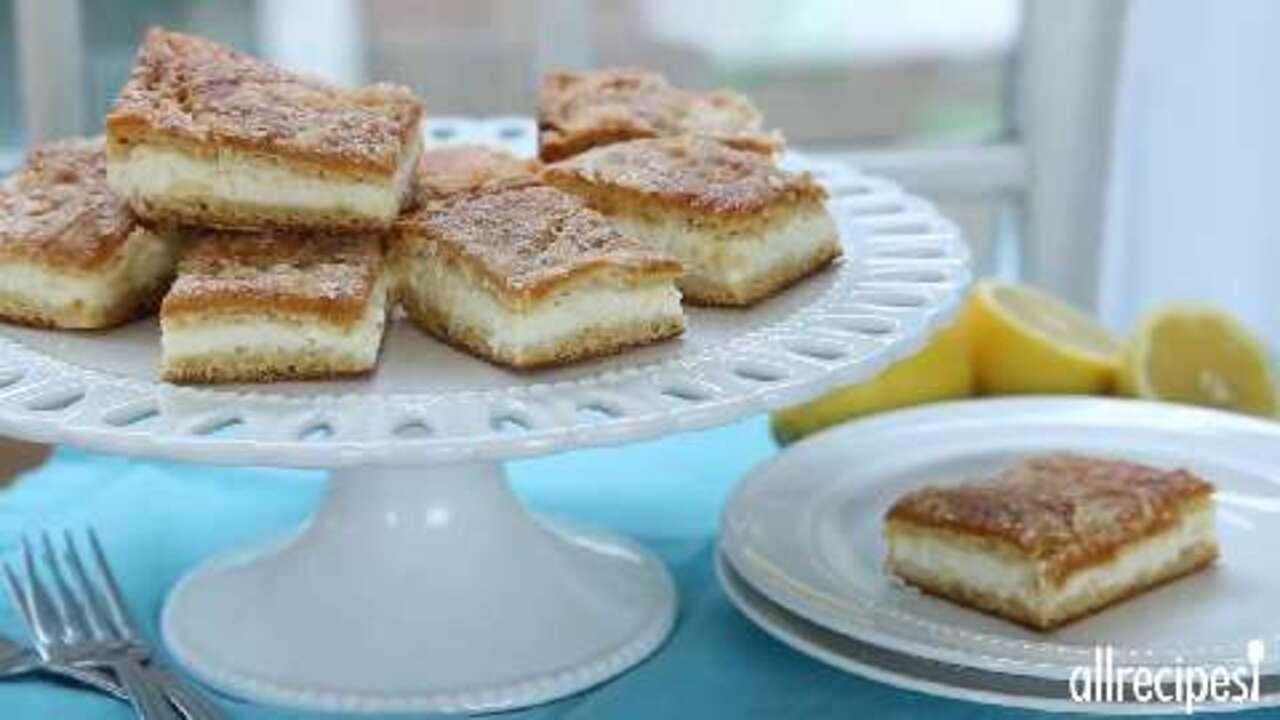 lemon cream cheese bars video