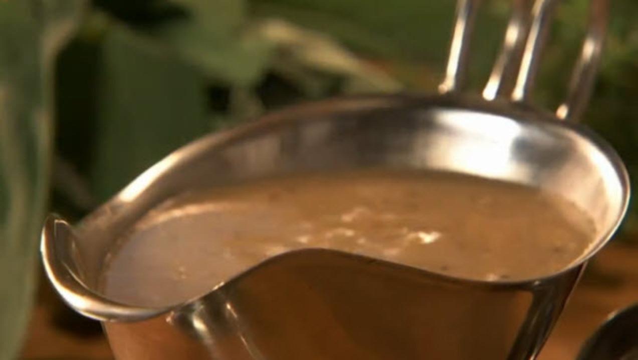 making turkey gravy video