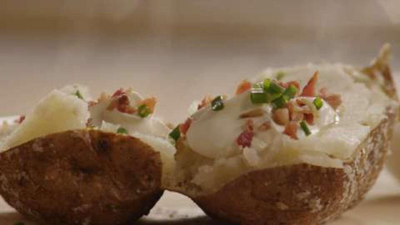 baked potato video