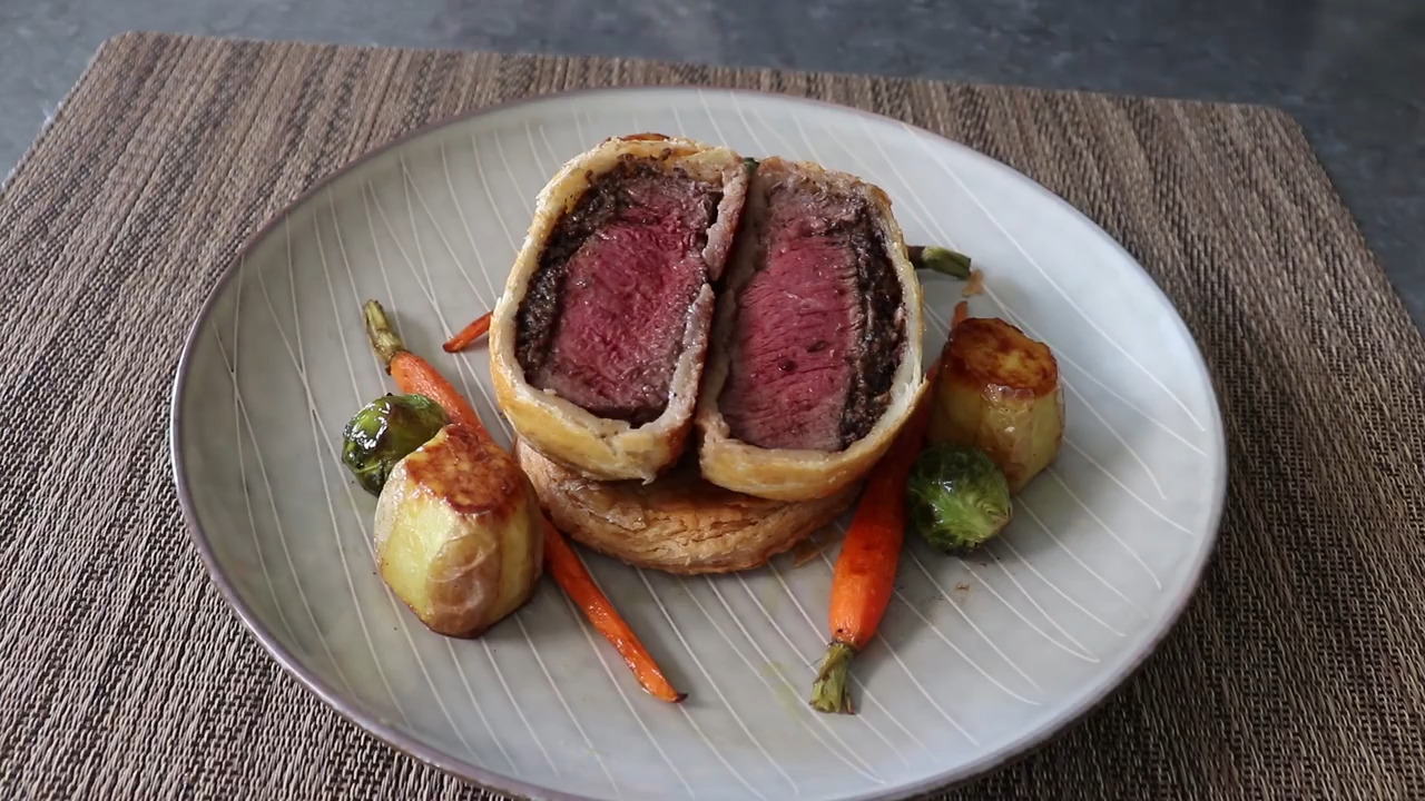Chef John S Individual Beef Wellingtons Video Allrecipes Com