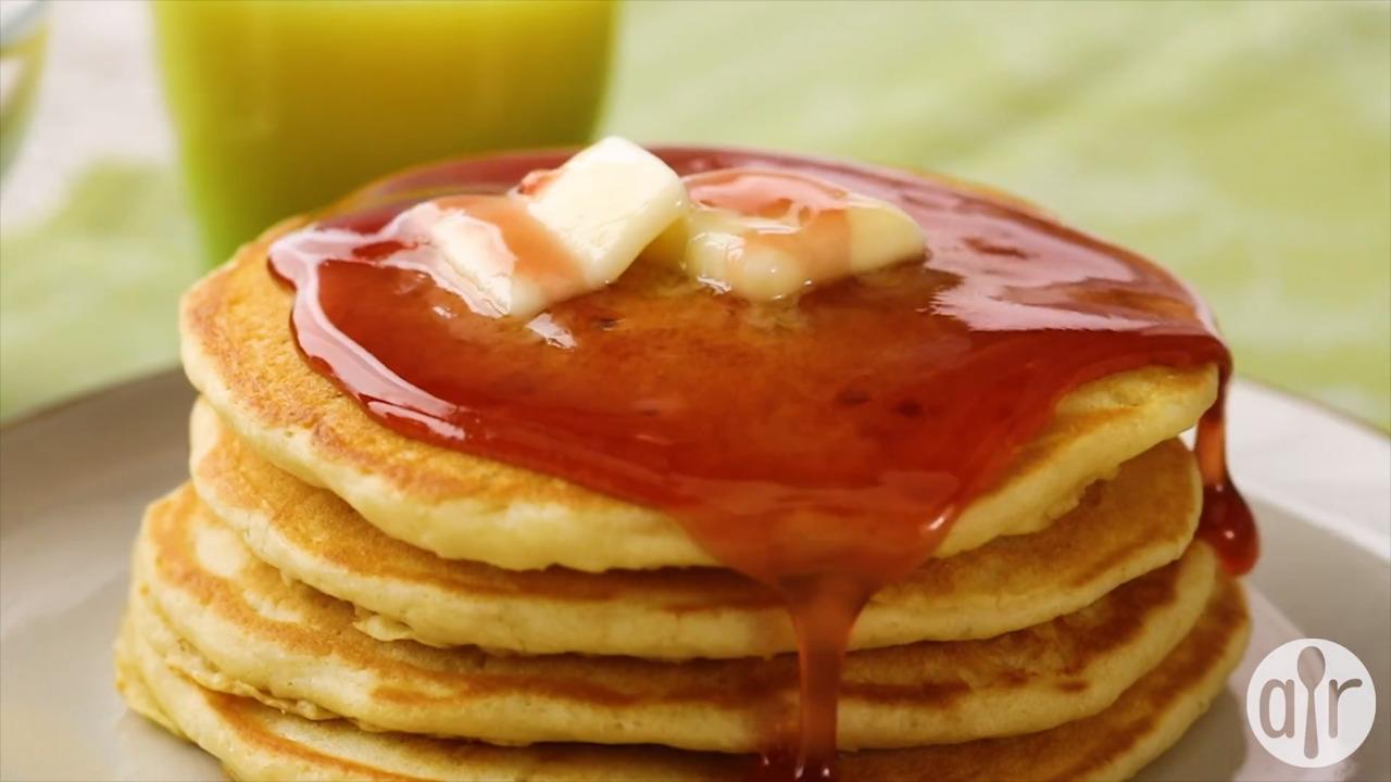 moms buttermilk pancakes video