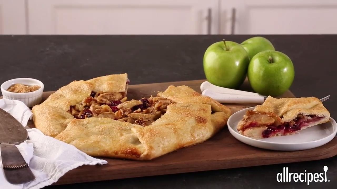 Rustic Fall Fruit Tart Video