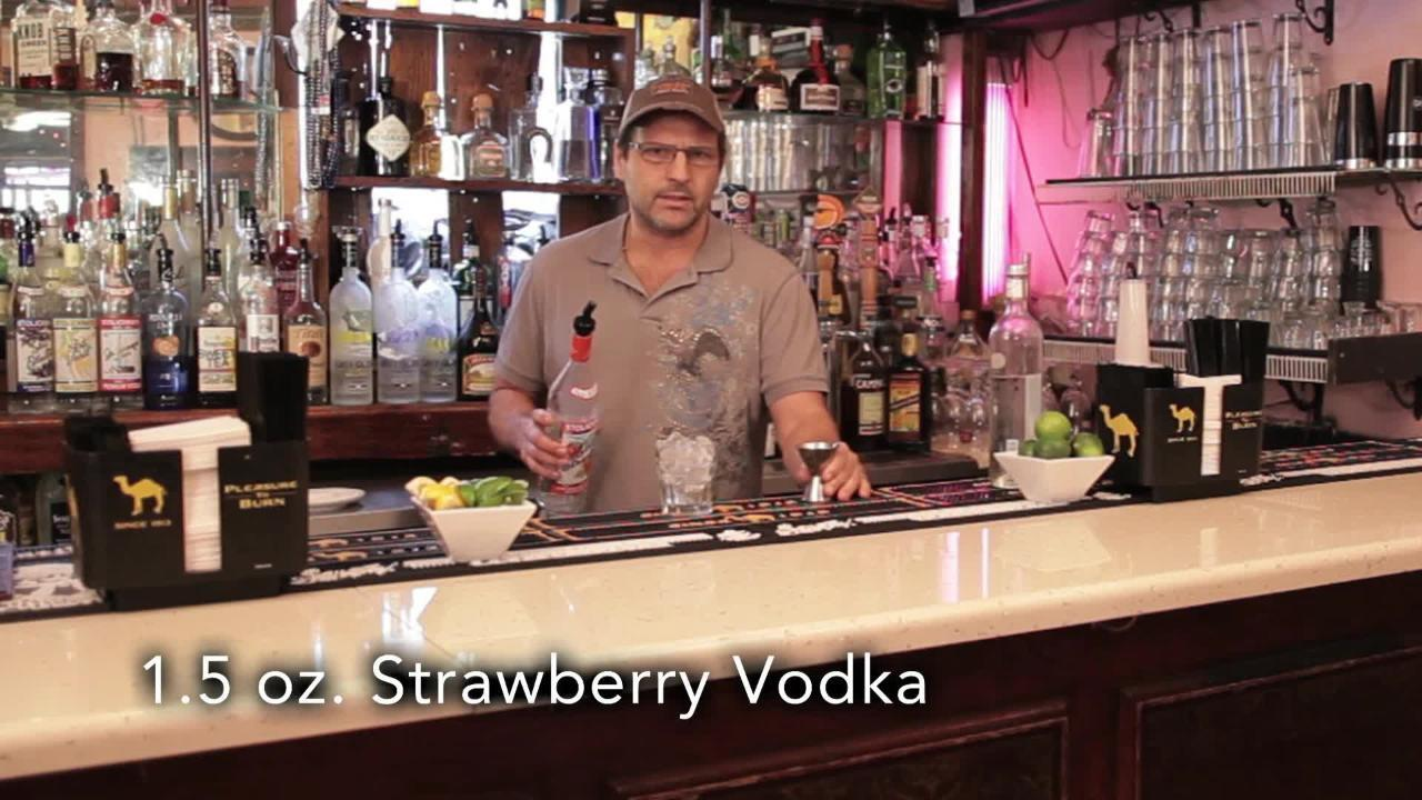 the vortex cocktail video