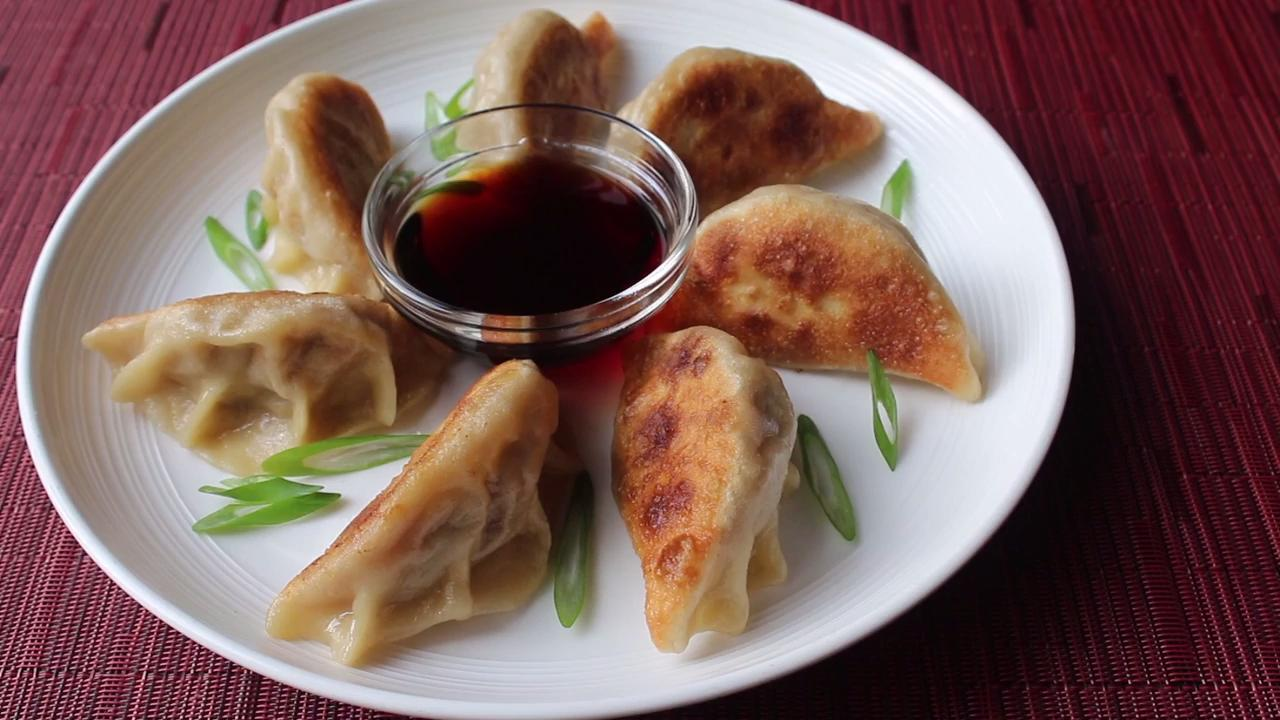 perfect pot stickers video