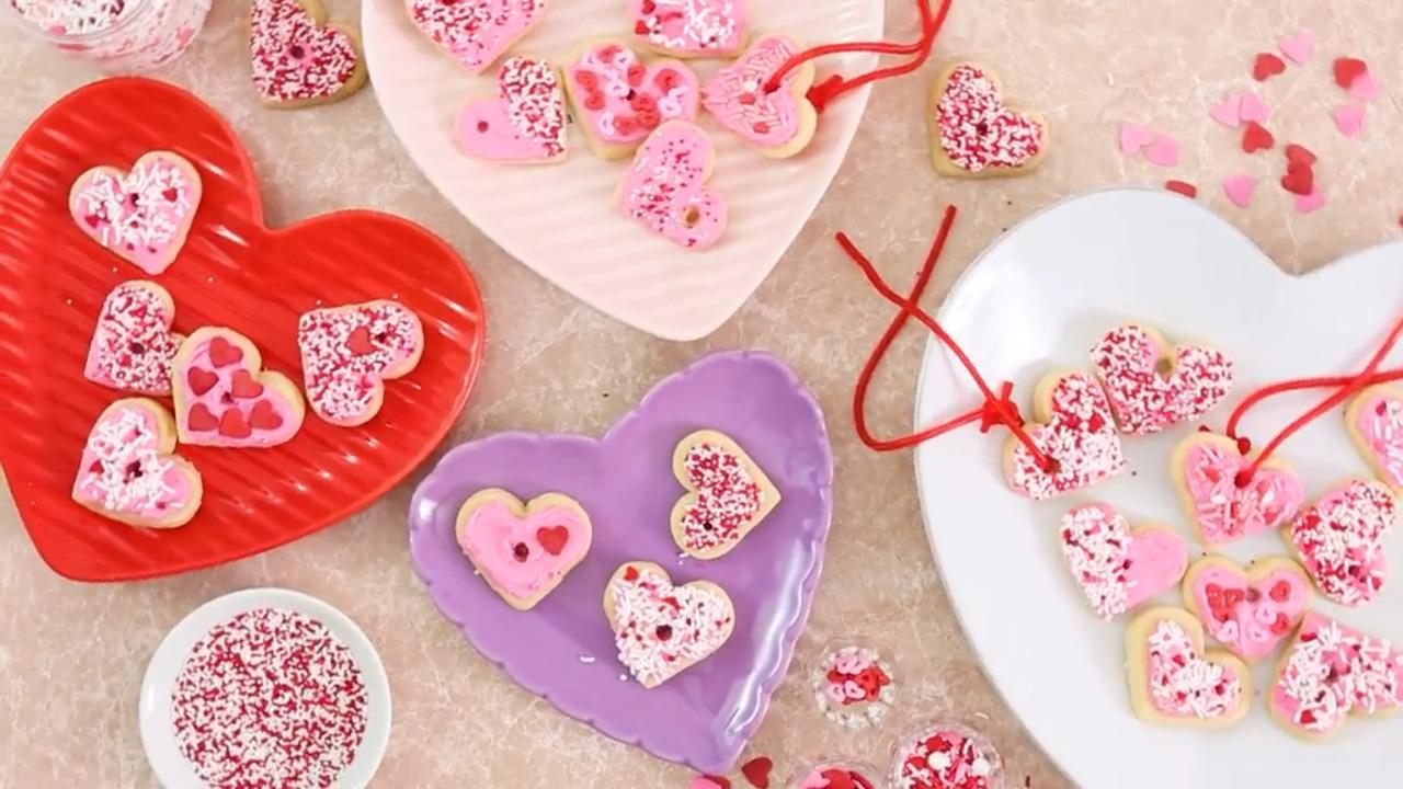 valentine heart necklaces video