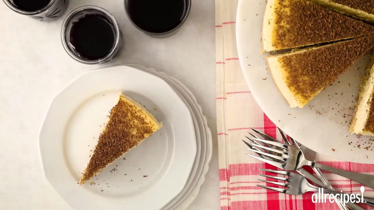 tiramisu cheesecake video