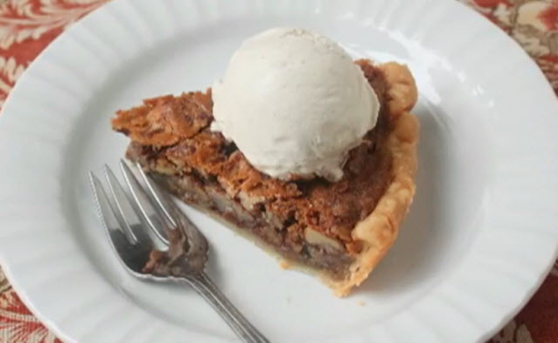 chef johns chocolate pecan pie video
