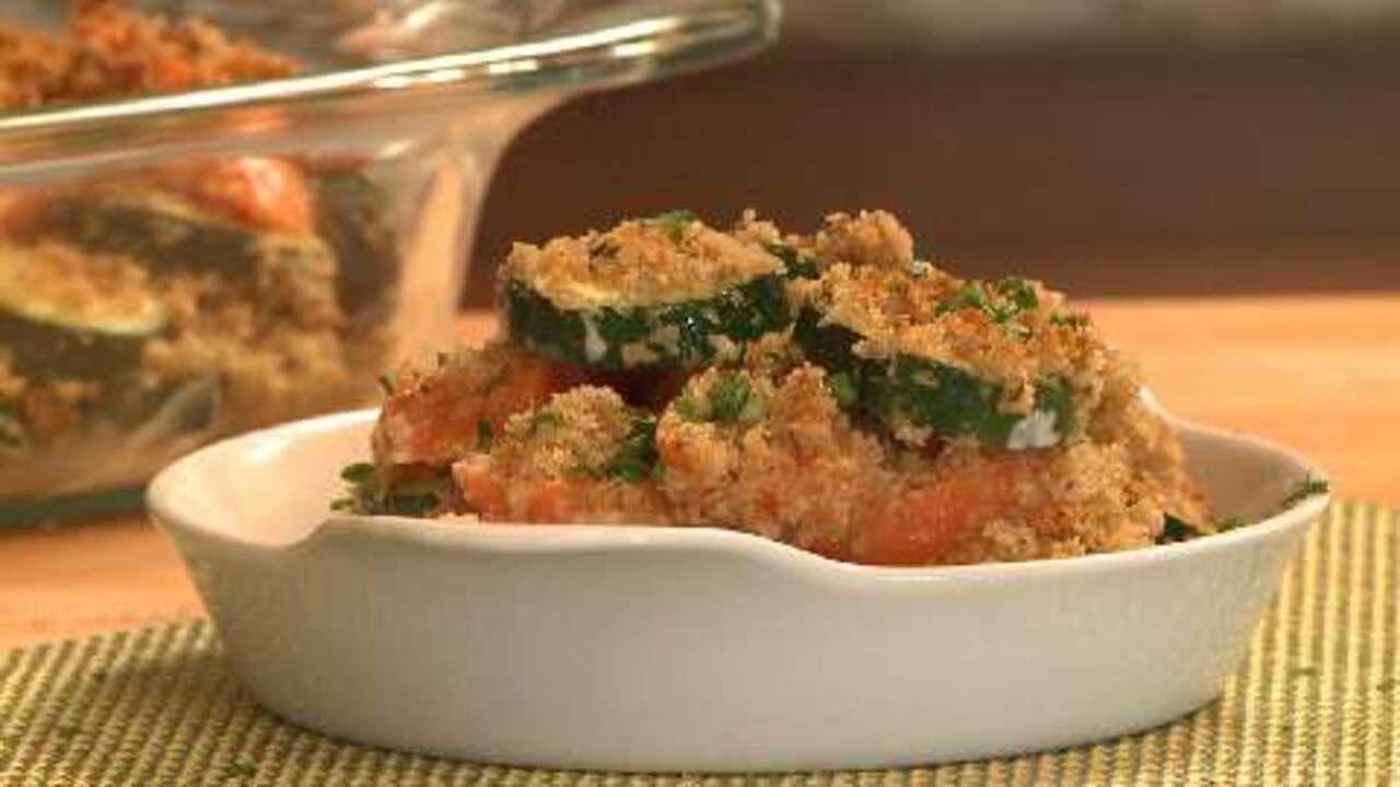 Carrot Zucchini Casserole edyegourmet