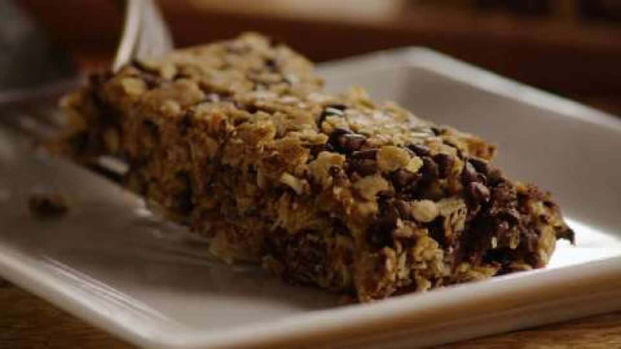 chewy granola bars video