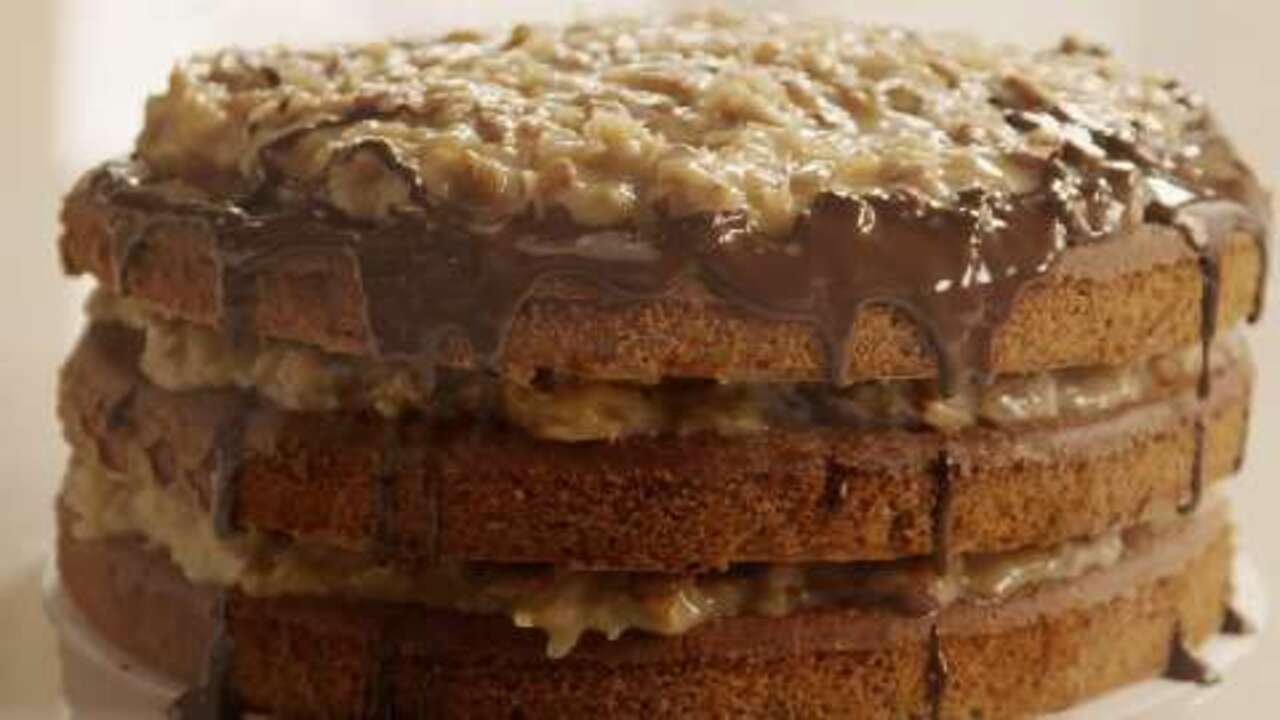 German Chocolate Cake Iii Recipe Allrecipes Com