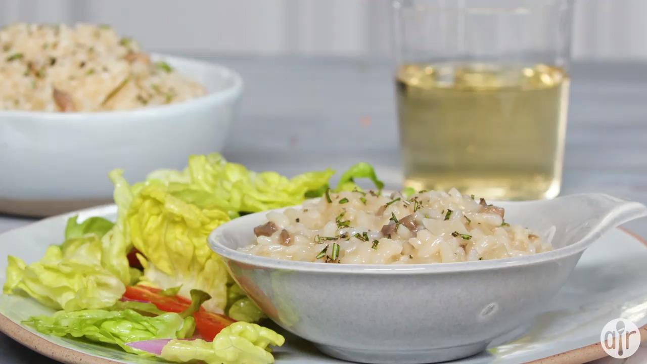 instant pot mushroom risotto video
