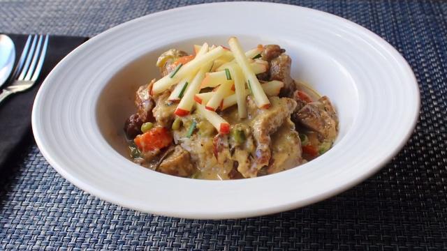 creamy pork stew video