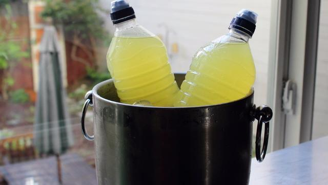 homemade sports drink video