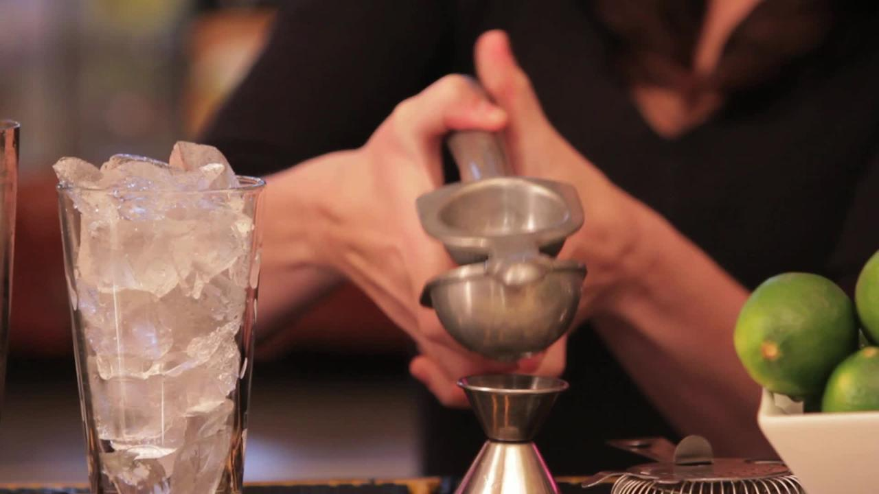 moscow mule cocktail video