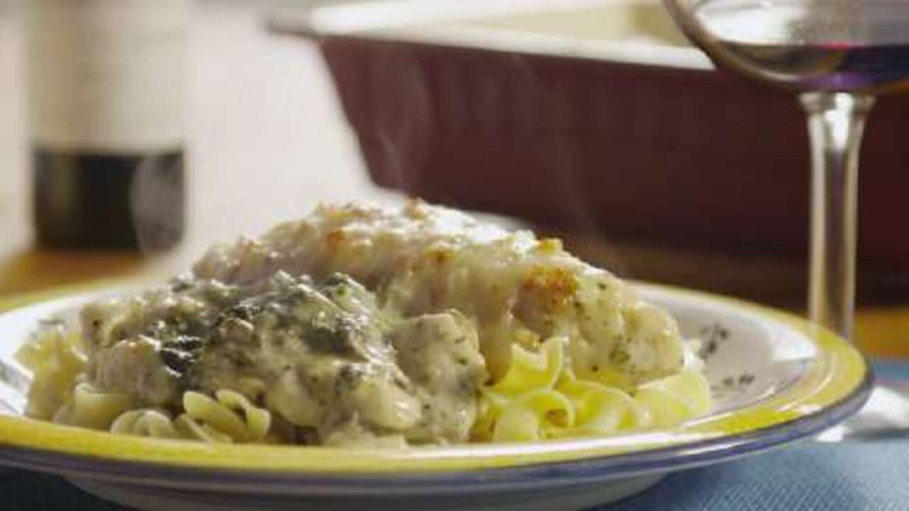chicken florentine casserole video