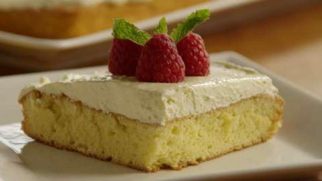 lemon cake video