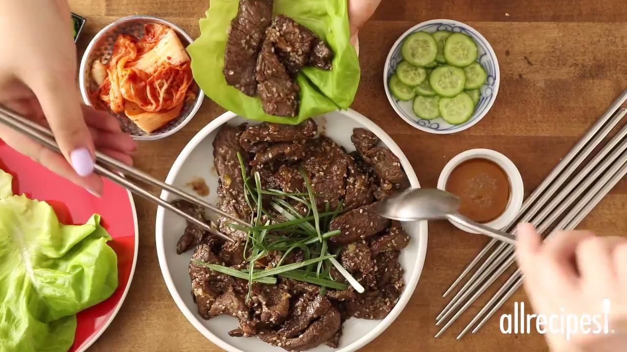 Easy Bulgogi (Korean BBQ Beef) Video - Allrecipes.com