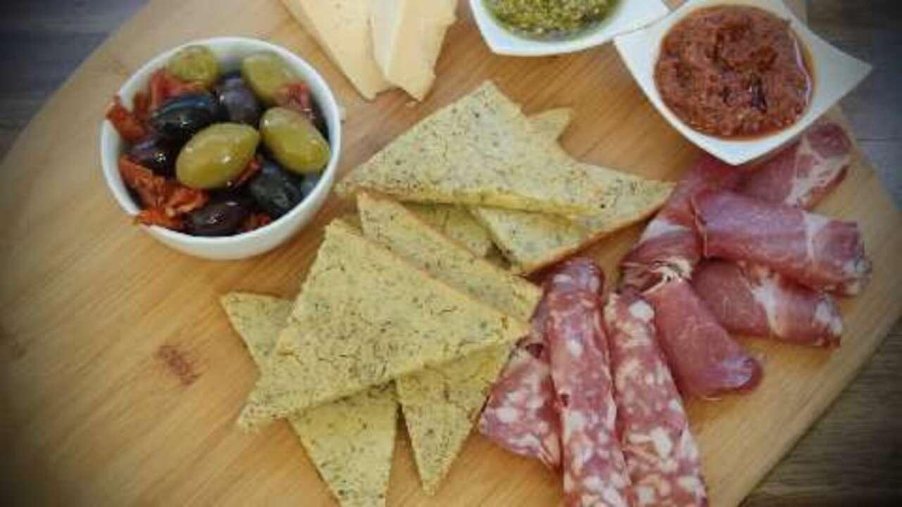 italian chickpea bread video