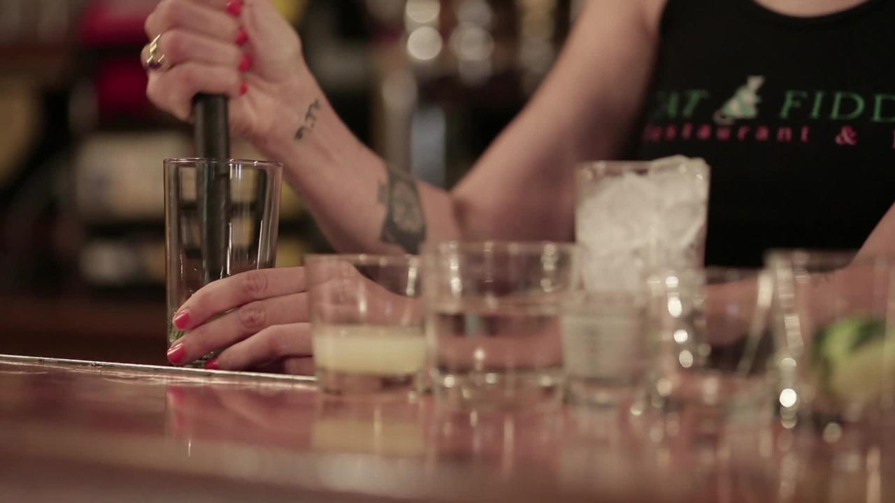 covent garden cocktail video