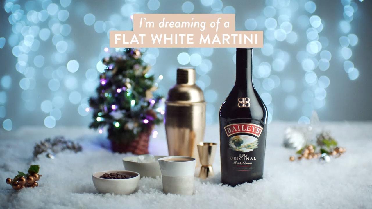 baileys flat white martini video