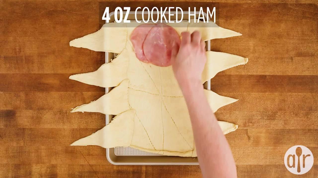 ham breakfast braid video