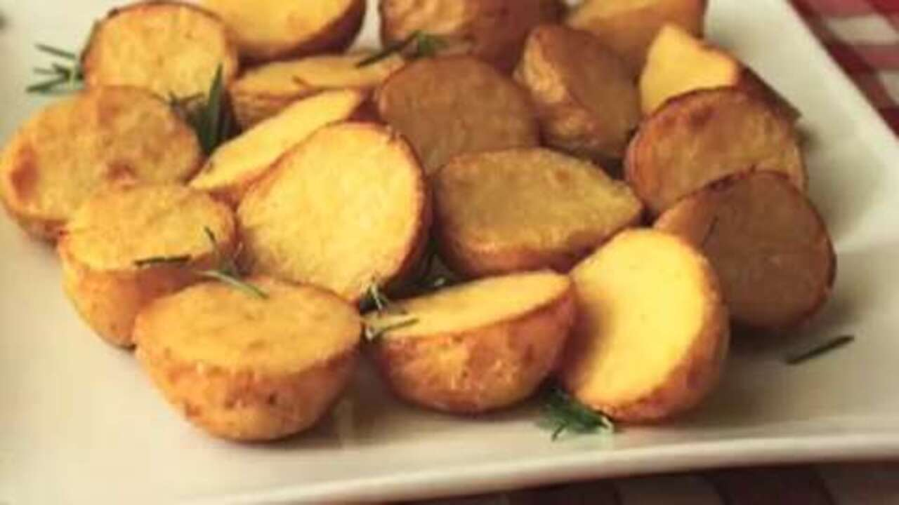 chef johns special roasted potatoes video