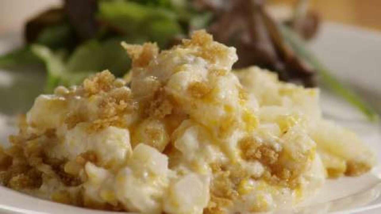 cheesy potato casserole video